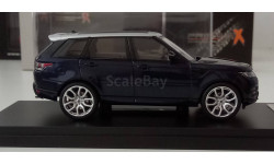 1:43 Range Rover Sport 2014 Metallic Blue (Premium X) PRD359