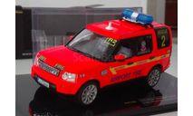 1:43 Land Rover Discovery 4 2010 Dublin Airport Fire Service (IXO) MOC136P, масштабная модель, 1/43
