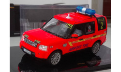 1:43 Land Rover Discovery 4 2010 Dublin Airport Fire Service (IXO) MOC136P