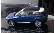 1:43 Range Rover Evoque 3-door blue 2011 (IXO) MOC142P, масштабная модель, 1/43