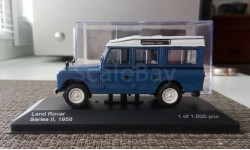 1:43 ​Land Rover Series II SW 1958 blue (White Box) WB135, масштабная модель, WhiteBox, scale43