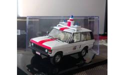 1:43 IXO Range Rover Belgium Police CLC160, масштабная модель, scale43