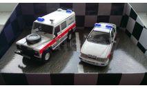 1:43 Tayside Police set Land Rover Defender 110 + Ford Sierra (Corgi) TP1002, масштабная модель, Land Rover Ford, 1/43