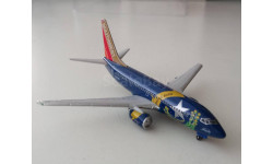 "1:400 Gemini Jets Boeing 737-700 Southwest Airlines ""Nevada Battleborn"", масштабные модели авиации"