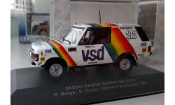 1:43 Range Rover Paris-Dakar №212 (Skid - Vitesse), масштабная модель, Skid-Vitesse, 1/43