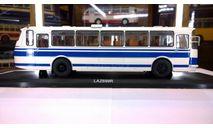 Лаз 699 Р (LAZ699R) белый с синими полосами, масштабная модель, Classicbus, scale43