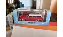 Chevrolet Nomad Station wagon 1961, масштабная модель, NEO, scale43