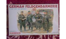 Нем. полевая жандармерия, миниатюры, фигуры, Dragon, scale35