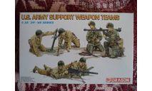 US Army Support Wearon Teams, миниатюры, фигуры, Dragon, 1:35, 1/35