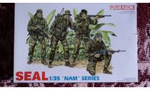 Спецназ США-SEAL,Вьетнам, миниатюры, фигуры, Dragon, scale35