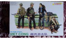 Viet Kong troops, миниатюры, фигуры, Dragon, scale35