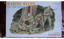 Marine Recon, миниатюры, фигуры, Dragon, scale35