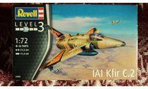 Revell Всепогодный многоцелевой истребитель  Kfir C-2, сборные модели авиации, scale72