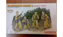 Fallschirmjager regiment3, миниатюры, фигуры, Dragon, scale35