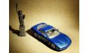 Chevrolet Corvette C5 Coupe (1997) - Bburago - 1:43, масштабная модель, 1/43