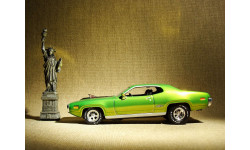 Plymouth GTX (1971) - Hot Wheels American Classics - 1:43