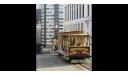 канатный трамвай Сан-Франциско Ferries & Cliff Cable Car (1888) - Atlas - 1:87, масштабная модель, 1/87