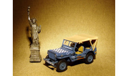 Jeep Willys MB 'RAF Aircraft Dispersal Guidance' (1941) - Cararama - 1:43