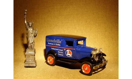 Ford Model A Delivery Van 'Lionelville' (1932) - Ertl - 1:43, масштабная модель, 1/43