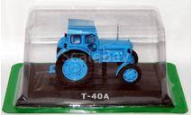 т-40а, масштабная модель трактора, Тракторы. История, люди, машины. (Hachette collections), 1:43, 1/43