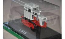 Т-54В, масштабная модель трактора, Тракторы. История, люди, машины. (Hachette collections), 1:43, 1/43