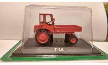 Т-16, масштабная модель трактора, Тракторы. История, люди, машины. (Hachette collections), 1:43, 1/43