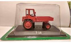 Т-16, масштабная модель трактора, Тракторы. История, люди, машины. (Hachette collections), scale43