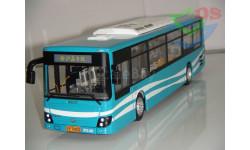 1/43 Автобус DAEWOO BUS Sunwin (Морская волна). Поворотный мост.