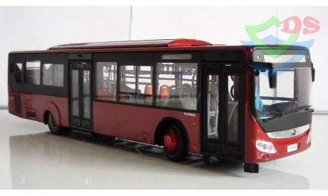 Автобус Yutong ZK6128HGK городской. (Цвет красного вина). Ютонг., масштабная модель, Chinabus, 1:43, 1/43
