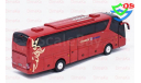 1/42 Автобус SCANIA HIGER A90 туристический, масштабная модель, HIGER SCANIA A90, China Promo Models, 1:43, 1/43