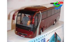 Автобус Yutong MAN туристический Ютонг 1/42., масштабная модель, China Promo Models, 1:43, 1/43
