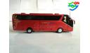 Автобус SCANIA HIGER A90 туристический 1/42, масштабная модель, HIGER SCANIA A90, China Promo Models, scale43