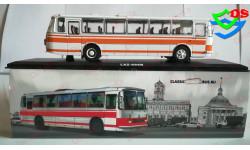 1:43 Автобус Лаз 699 Р Бело Оранжевый ( Первый Выпуск). 1980 СССР ClassicBus