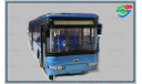Автобус Yutong ZK6128HG городской. (Цвет Голубой). Ютонг., масштабная модель, China Promo Models, 1:43, 1/43