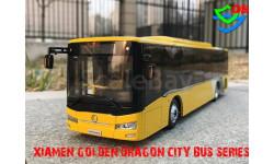 Автобус Xiamen Golden Dragon XML6125J28C Chuanliu SITY BUS SERIES. 1/42, масштабная модель, China Promo Models, 1:43, 1/43