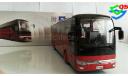1/42 Автобус Yutong ZK6122H9 туристический, масштабная модель, China Promo Models, 1:43, 1/43