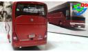 Автобус Yutong ZK6122H9 туристический, масштабная модель, China Promo Models, 1:43, 1/43