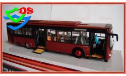Автобус Yutong городской низкопольный. Ютонг., масштабная модель, China Promo Models, 1:43, 1/43