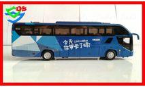 Автобус HIGER H92 Хайгер Хигер туристический  Автобусы, масштабная модель, HIGER KLQ6125B H92, China Promo Models, scale43