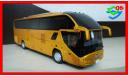 Автобус HIGER H92 KLQ6126A Юбилейный выпуск. 20 лет, масштабная модель, HIGER KLQ6126A H92, China Promo Models, 1:43, 1/43