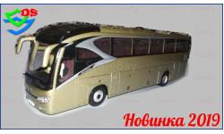 Автобус Xiamen Golden Dragon XML 6129 NAVIGATOR. Новика 2019., масштабная модель, China Promo Models, scale43