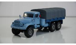 1/43 КрАЗ-255 Б1 бортовой голубой