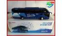 Автобус HIGER H92 туристический, масштабная модель, HIGER KLQ6125B H92, China Promo Models, 1:43, 1/43