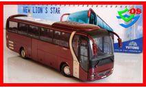 Автобус Yutong MAN туристический Ютонг, масштабная модель, China Promo Models, scale43