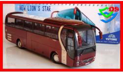 Автобус Yutong MAN туристический Ютонг, масштабная модель, China Promo Models, 1:43, 1/43
