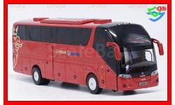 Автобус SCANIA HIGER A90 туристический, масштабная модель, HIGER SCANIA A90, China Promo Models, 1:43, 1/43