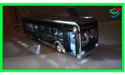 Автобус YUTONG U12 electric bus Электрофицированный, масштабная модель, China Promo Models, 1:43, 1/43