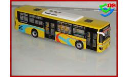 1/43 Автобус DAEWOO BUS Sunwin (Жёлтый). Limited Edition. АРТ Модель., масштабная модель, China Promo Models, scale43