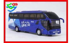 С РУБЛЯ! Автобус HIGER туристический H92, масштабная модель, HIGER KLQ6125B H92, China Promo Models, 1:43, 1/43