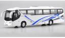 Автобус BYD C9 (туристический междугородний электрический), масштабная модель, scale0